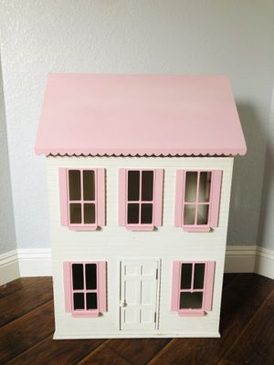 Large Doll Barbie Pink Wood House Play Pretend Girls for Sale in Elk Grove, CA