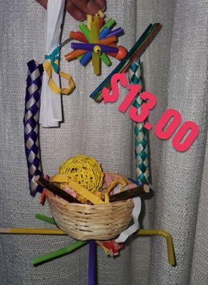 Surprised basket bird toy for Sale in Grand Rapids, MI