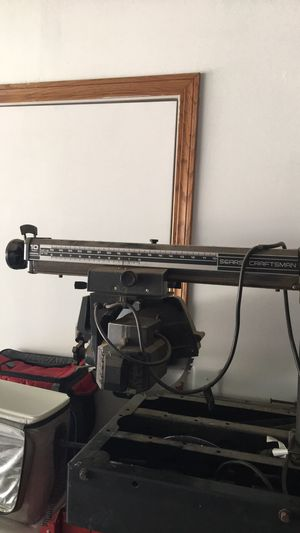 """Still for sale $45 craftsman 10"""" radial table saw for Sale in Lincoln, NE"""