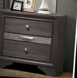 Queen bed frame. Dresser. Mirror. One night stand. Price firm for Sale in Ontario,  CA