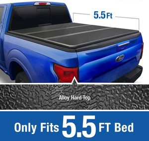 Ford F150 2004-2014 5.5FT Hard Tri-Fold Tonneau Bed Cover for Sale in Pomona, CA