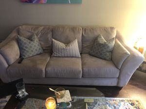 Matching tan couches! Pick up only. for Sale in Atlanta, GA
