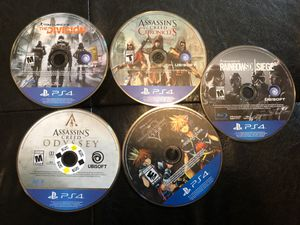 Playstation 4 games for Sale in Vancouver, WA