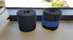 D-line cable grip strips - 20 feet long x 3 inch wide - great for hiding cords for Sale in San Diego, CA
