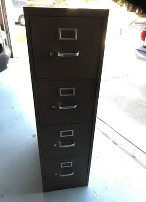 Filing Cabinet 4-Drawer Excellent Condition made by HON for Sale in Clarksburg, CA