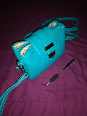 Teal mini purse for Sale in Gambrills, MD