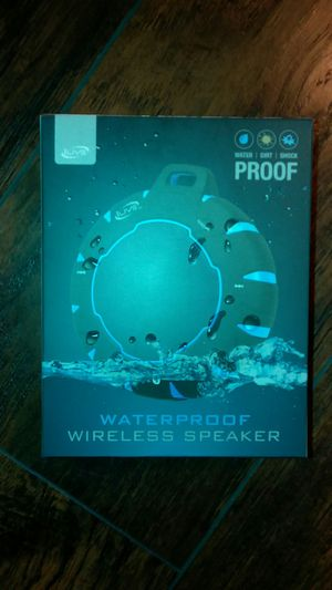 Waterproof wireless speaker for Sale in Kent, WA
