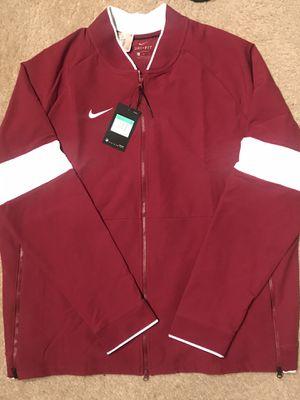 Nike Mens Crimson Long Sleeve Jacket for Sale in Jonesboro, GA