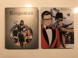 Kingsman bluray steelbook collection -please read for Sale in Aurora, CO