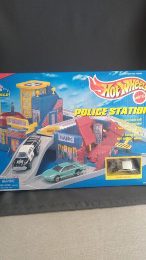 Hot wheels police station 1996 for Sale in Oak Brook, IL