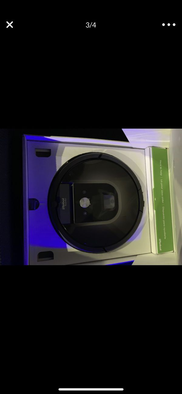 Roomba 980 one of the most high tech