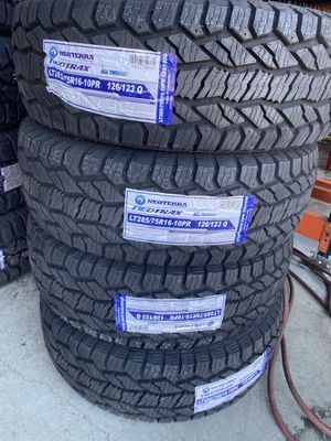 285/75/16 new all terrain tires for Sale in Moreno Valley, CA