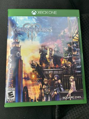 XBox One Kingdom Hearts 3 for Sale in Las Vegas, NV