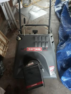 Craftsman Gas Snow Blower for Sale in Quincy, IL