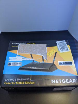 Netgear Nighthawk AC1750 gaming wifi router for Sale in Las Vegas, NV