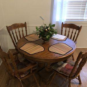 8 Piece Wood Dining Set for Sale in Deer Park, TX