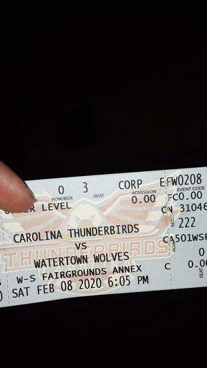 Hockey tickets for Sale in Winston-Salem, NC