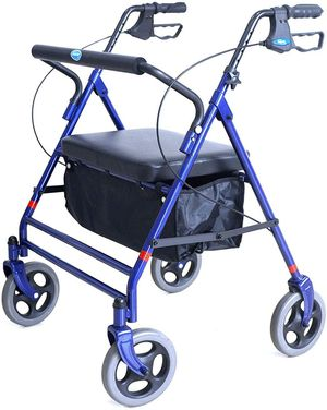 Invacare Bariatric Rollator, with Flip-up Padded Seat, 500 lb. Weight Capacity, for Sale in Elk Grove, CA