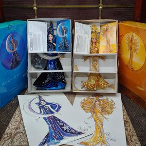 Vintage Barbie Sun & Moon Goddesses Designed by Bob Mackie for Sale in Los Angeles, CA