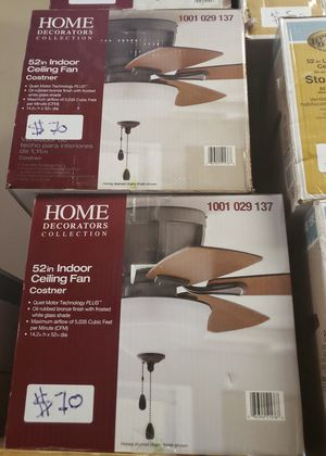 52 in LED Oil-Rubbed Bronze Finish Ceiling Fan for Sale in North Las Vegas, NV