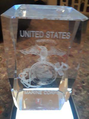 US Marine crystal cube for Sale in Wichita, KS