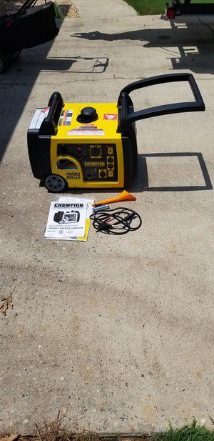 Champion 75537i 3100-Watt RV Ready Quiet Portable Inverter Generator w/wireless remote start for Sale in Columbus, GA
