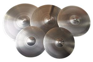 Chang Low Volume Quiet Mute Cymbal Pack Set 5pcs - In Stock From US Seller for Sale in Lake Worth, FL