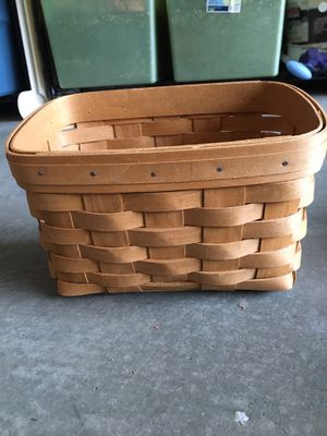 Longaberger Basket for Sale in Tustin, CA