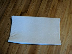 Changing table pad and wooden. Changing table for Sale in Pylesville, MD