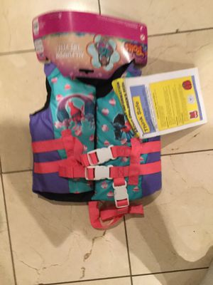 life saver vest for kids, from Trolls for Sale in City of Industry, CA