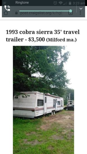 1993 COBRA SIERRA 35 ' 2Bedroom travel trailer for Sale in Milford, MA