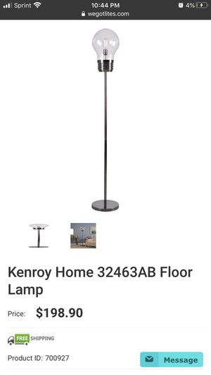 Gigantic Light Bulb Floor Lamp for Sale in Haymarket, VA