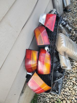Selling some car parts bmw tail light Honda's tail lights mufflers coilovers for Sale in Vancouver, WA