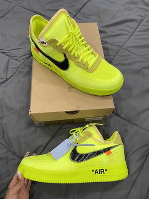 Air Force 1 OFF-WHITE VOLT for Sale in San Jose, CA