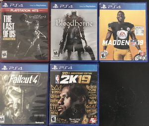 5 PS4 games for Sale in Marysville, WA