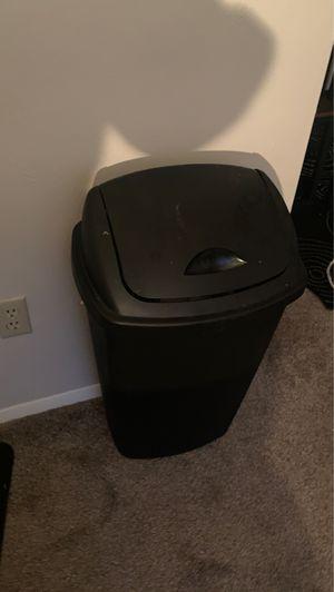 Black kitchen trash can for Sale in Chesapeake, VA