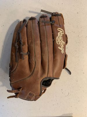 """Rawlings baseball glove 14"""" brand new + oil conditioner for Sale in Seattle, WA"""