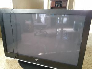 Free!! Samsung 55 inch TV works 10 years old for Sale in Goodyear, AZ