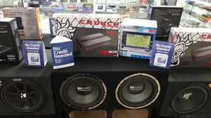 """GPS Stereo with 12"""" Subwoofer System+ Free Install for Sale in Las Vegas, NV"""