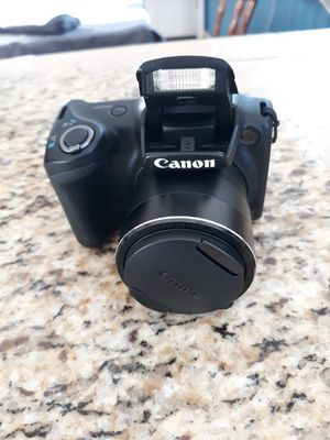 Canon PowerShot SX400 IS 16.0MP Digital Camera - Black 4.3-129 mm Lens. Condition is Used. for Sale in Colorado Springs, CO