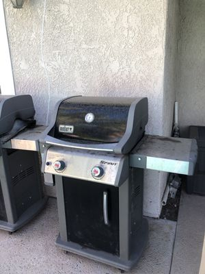 Weber spirit bbq grills for sale or trade for Sale in Moreno Valley, CA