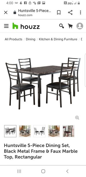 6 piece dining and coffee table set for Sale in Hilliard, OH