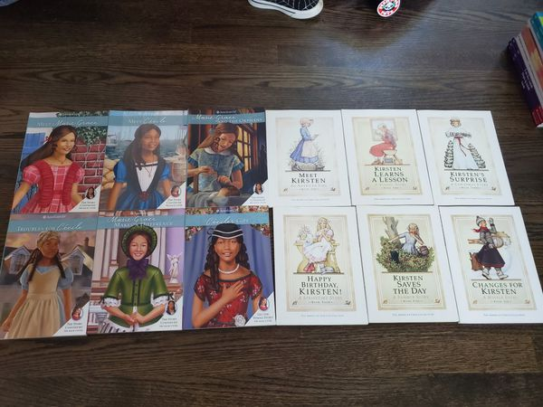 American girl complete series books 20.00 each