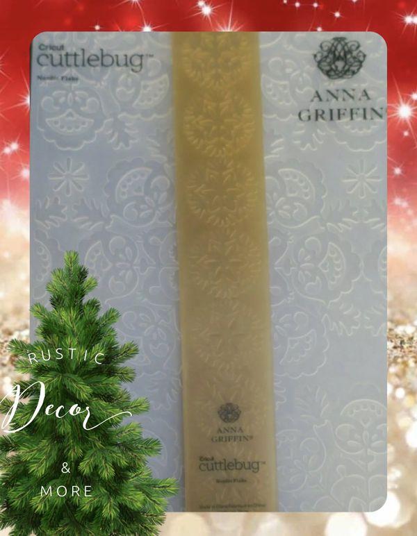 Anna Griffin Holiday Seasonal Embossing Folders & Border Folders