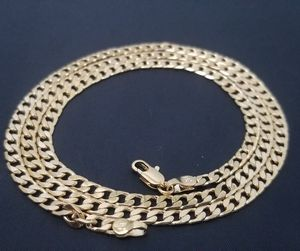 14K GOLD PLATED CUBAN CURB CHAIN NECKLACE for Sale in Phoenix, AZ