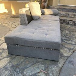 Low Grey Chaise /Pet Bed for Sale in Beverly Hills,  CA