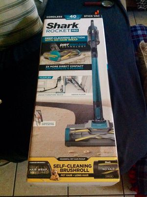 Pro edition Cordless ultra lite shark rocket vacuum with multi flex lithium ion. New never used. Dual capacity rechargeable pack carpet cleaner for Sale in Mesa, AZ