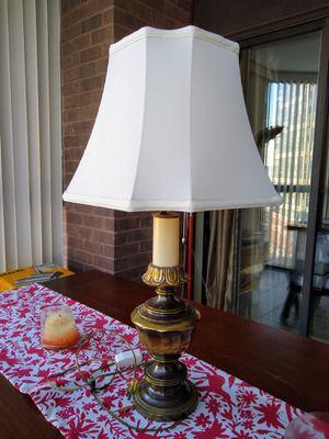 Antique brass table lamp for Sale in Arlington, VA