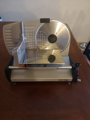 Ostba electric Deli meat slicer 7.5 inch blade for Sale in Hemet, CA