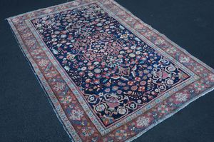 "Antique Persian handmade Sarouk Farahan rug 4' 2"" x 6' 5"" for Sale in Rockville, MD"